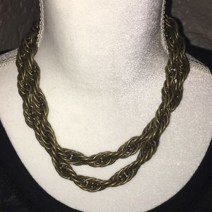 Jewelry - Vintage Heavyweight rope necklace - High Quality